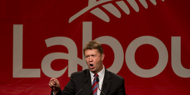 Loading Labour Leader David Cunliffe, during his State of the Nation address today. Photo / Brett Phibbs