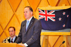 PM John Key has put forward the idea of changing the national flag. Photo / NZ Herald