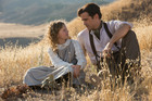 Ruth Wilson and Colin Farrell in a scene from Saving Mr Banks.