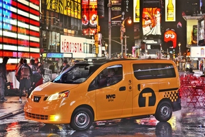 Japanese Nissan NV200 New York