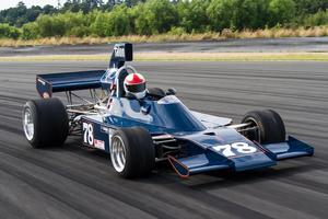 F5000 racer David Banks drives one of only five Talons originally built, back in the 70s. Last season, Banks finished third in the MSC series points standings. Picture / Alex Mitchell