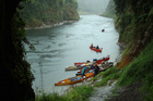 Canoeing on the Whanganui River. Photo / Elisabeth Easther