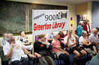 About 70 supporters of the Greerton Library upgrade were at yesterday's Tauranga City Council meeting to hear the decision. Photo / Andrew Warner