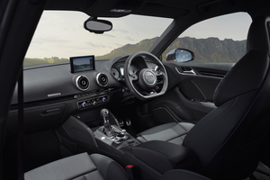 The interior of the new Audi S3 Sportback. Image / Chris Benny