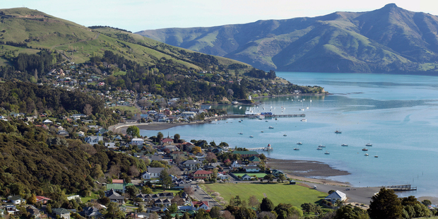 Akaroa brings a little taste of France to New Zealand.