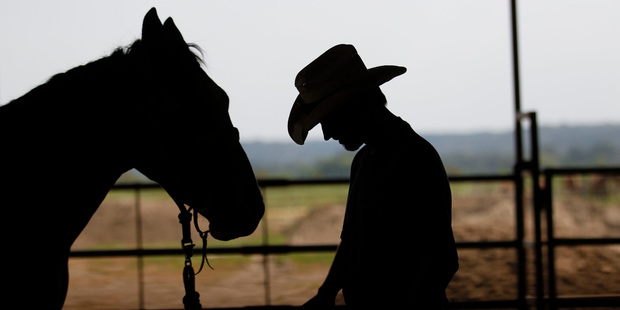 Horses are a big part of the prisoners' lives at Angola. Photo / AP