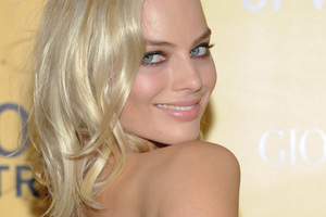 Actress Margot Robbie. Photo / AP