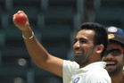 Zaheer Khan. Photo / Getty Images