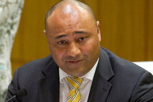 National MP Peseta Sam Lotu-Iiga/ Photo / Mark Mitchell