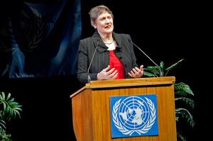Former Prime Minister Helen Clark. Photo / APN