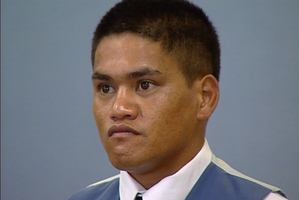 Teina Pora at his retrial in 2000.