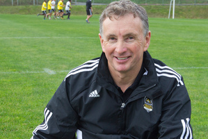 Wellington Phoenix coach Ernie Merrick. Photo / Mark Mitchell