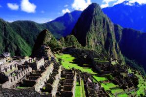 Richard Falkner rates Machu Picchu as a dream destination.