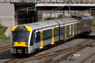 First electric rail passenger services will start end-April between Onehunga and Britomart. Photo / NZ Herald