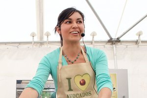 Food writer and Masterchef 2011 winner Nadia Lim. Photo / Mark McKeown