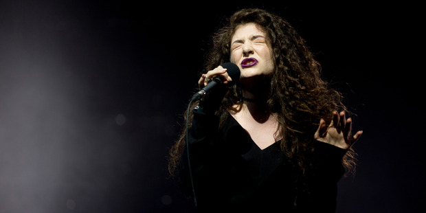 Lorde. Photo/Dean Purcell