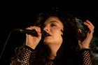 @LordeMusic attracts both praise and abuse on social media. Photo / Richard Robinson.