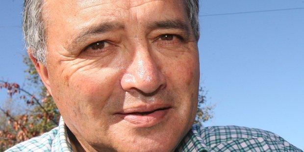 New Zealand First's Tauranga Electorate chairman Edwin Perry.