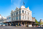 115 year old former Family & Naval Hotel at 243 Karangahape Rd, which is now occupied by the Calendar Girls nightclub.