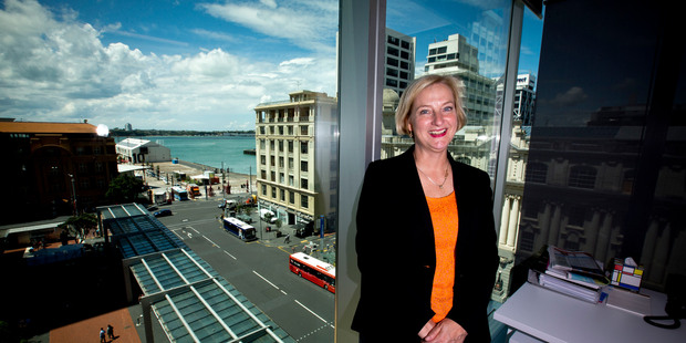 Julie Read, director of the Serious Fraud Office, at the SFO office in Auckland City.