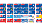 Many argue that the NZ flag gets lost in the sea of sameness. Photo / NZ Herald