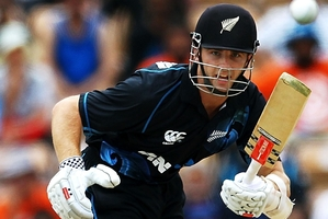 Kane Williamson (pictured) and Ross Taylor hold the edge in ODIs, but Martin Crowe and Andrew Jones still stand alone as a No 3 and 4 test combination.