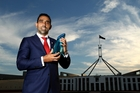 Adam Goodes is Australian of the Year, but he says his country's national day is