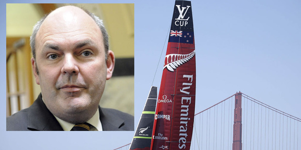 Steven Joyce spent nearly $30,000 on a trip to the America's Cup regatta in San Francisco. Photo / NZ Herald