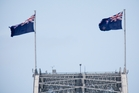The Union Jack on the NZ flag suggests this country is a British possession. Photo / Richard Robinson