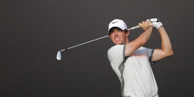 Rory McIlroy has a one-shot lead over American Brooks Koepka at the halfway stage of the Desert Classic. Photo / AP