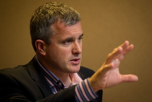 Managing director John Penno. Photo / NZ Herald