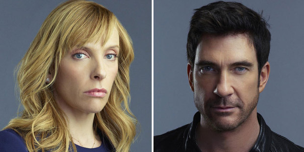 Toni Collette and Dylan McDermott of Hostages.