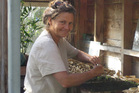 Permaculture expert Kay Baxter advises growing your own vegetables. Photo / Supplied