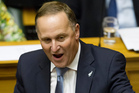 Prime Minister John Key during his Opening to Parliament statement. Photo / Mark Mitchell
