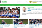 The new Herald Rugby section.