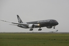Air New Zealand was the launch customer for the Boeing 787-9 Dreamliner. Photo / Peter Meecham