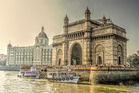 The Taj Mahal Hotel and the Gateway of India were built for George V's visit in 1911. Photo / 123RF