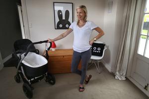 Talia Kilmore-Waldegrave is 35 weeks pregnant and has chosen to give birth in hospital. Photo/John Borren.