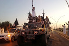 Islamic State militants. Photo / AP