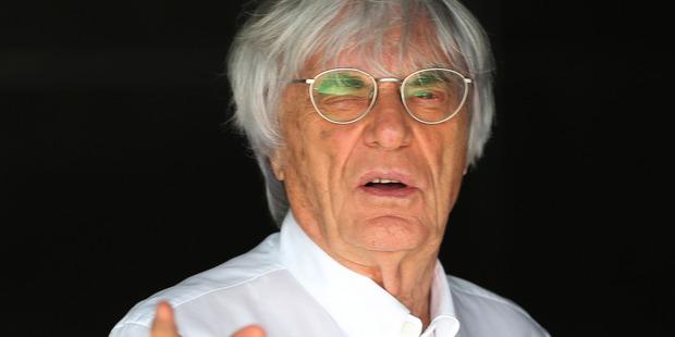 Bernie Ecclestone. Photo / AP