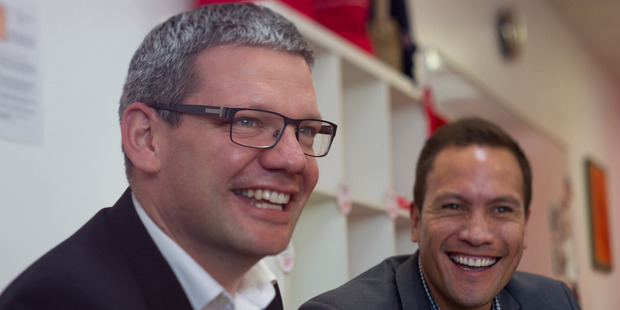 Palmerston North MP Iain Lees-Galloway, left, took over the euthanasia bill from former Labour MP Maryan Street when she was not re-elected in September. Photo / NZME.