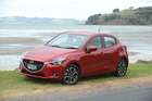 The fourth generation Mazda2