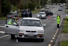 The Titirangi Rd crossing, where the 8-year-old girl was badly hurt, is controlled by lights. Photo / Nick Reed