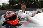 Michael Schumacher is making good progress after the skiing accident a year ago that left him in a coma. According to reports he is able to recognise his family and friends.