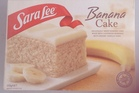 Sara Lee Banana Cake. $7.99 for 350g.