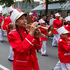 A Tongan band performing during the rugby sevens parade. Photo / Mark Mitchell