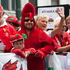 Welsh supporters during the rugby sevens parade. Photo / Mark Mitchell
