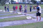 Shooters line up at an open day. Photo/Supplied