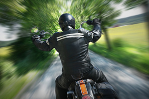 A motorcyclist has died in a collision with another vehicle. Photo / Thinkstock