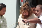 Jose Salvador Alvarenga washed ashore after apparently 13 months adrift in the Pacific. Photo / AP